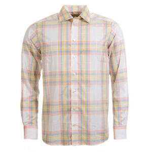 ETON-Shirt-Yellow-Check-Size-38cm-15-034-Collar-BW-400