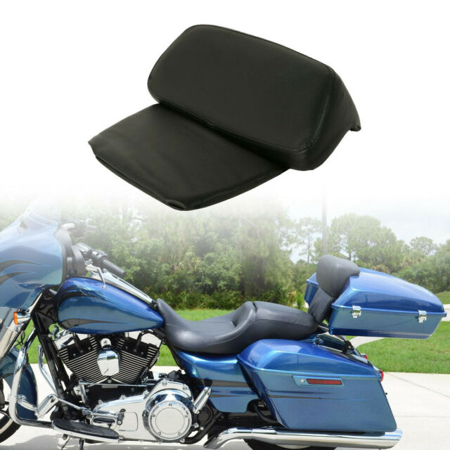 14-18 Razor Chopped Trunk Tour Pak Pack W// Pack Pad Backrest for Harley Davision