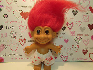 "100% HUGABLE BOY IN BOXER SHORTS - 5"" Russ Troll Doll - NEW IN ORIGINAL BAG"