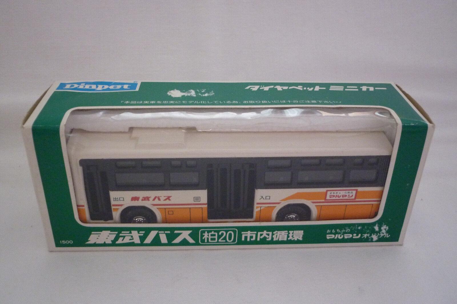 Diapet - Vintage Metal Model - MITSUBISHI Tobu Bus - ( Unb 23)