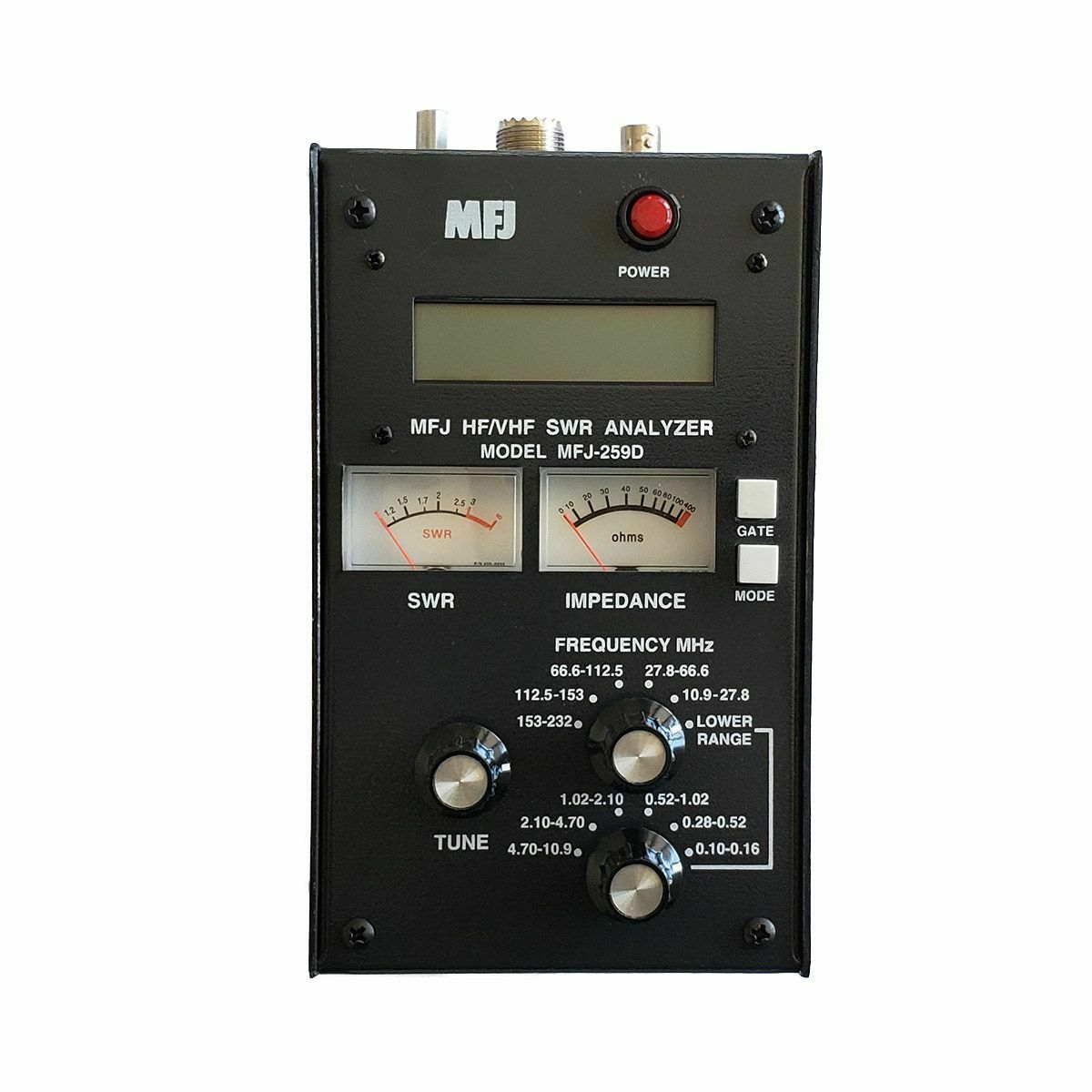 MFJ-259D HF/VHF (100-160KHz, 280KHz-232MHz) SWR Antenna Analyzer. Buy it now for 319.95