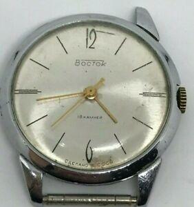 Ussr-Wostok-18-Jewels-Watch-Vintage-Vostok-Soviet-S-Men-Wrist-Rare-Mechanical