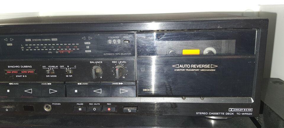 Båndoptager, Sony, Tc-wr520