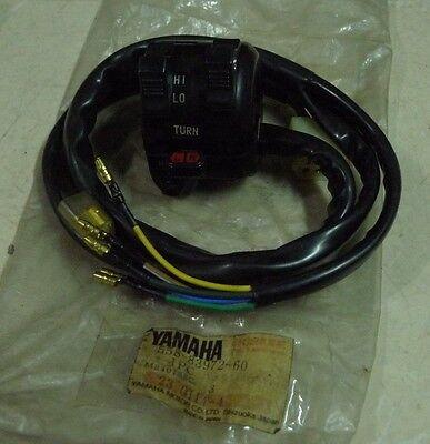 YAMAHA DT175 DT250 DT360 DT400 1977 1978 1978 1979 Handle Light Switch L.H N.O.S