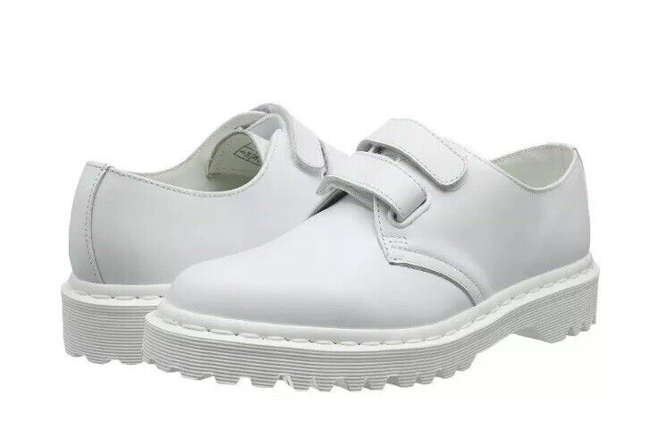 Dr Martens Martens Martens Laureen Leather Fashion Oxford shoes Women's US 9 White NEW  120 d3c921