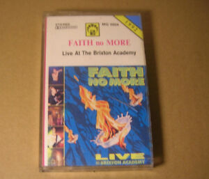 Faith No More - Live At The Brixton Academy RARE CASSETTE POLAND - Bielsko-Biala, Polska - Faith No More - Live At The Brixton Academy RARE CASSETTE POLAND - Bielsko-Biala, Polska