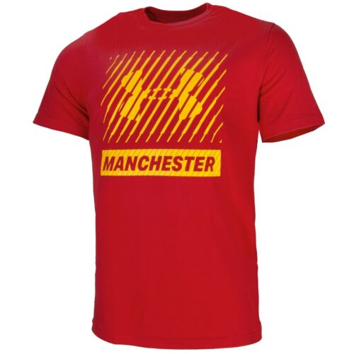 Under Armour Manchester Big Logo Short Manche Thé Loisirs T-shirt 1325295-600