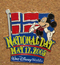 B8 PIN  DISNEY MICKEY MOUSE CHARACTER LIMITED EDITION RARE NATIONAL DAY 2005
