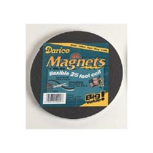 """Darice Adhesive Magnetic Tape Roll 1/"""" x 10 feet Magnet Strip for Home or School"""