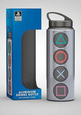 Größe Ø7 H22 cm AC//DC Logo Aluminium Trinkflasche mit Deckel