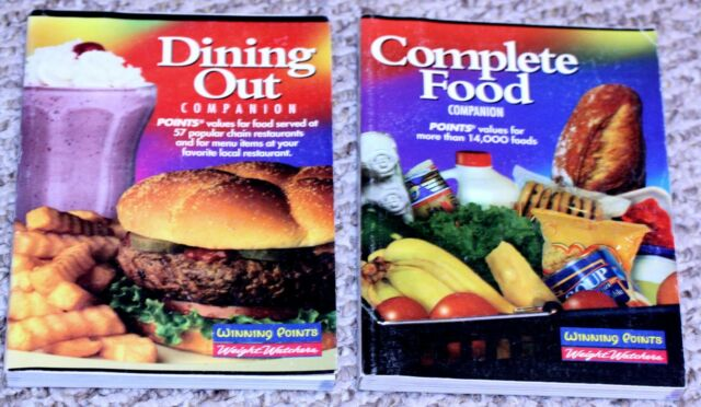 2 Weight Watchers Books SC Dining Out Companion & Complete Food Companion
