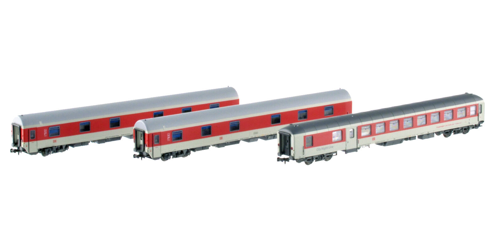 LS Models 79055 CNL DB Set PEGASUS 1xLiege+2xSchlafWag 1xLiege+2xSchlafWag 1xLiege+2xSchlafWag lichtgrey red Ep6 Neu+OVP 1f9f1a