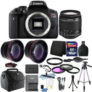 Canon-EOS-Rebel-T6-DSLR-Camera-EF-S-18-55mm-IS-II-Lens-Kit-16GB-Bundle