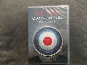 "DVD NEUF ""THE WHO : QUADROPHENIA, LIVE IN LONDON 2013"""