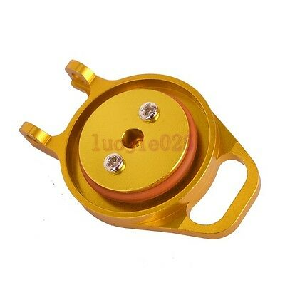 122059 HSP 102059 Fuel Tank Cover (AL) For RC 1/10 Model Car Spare Parts Yellow