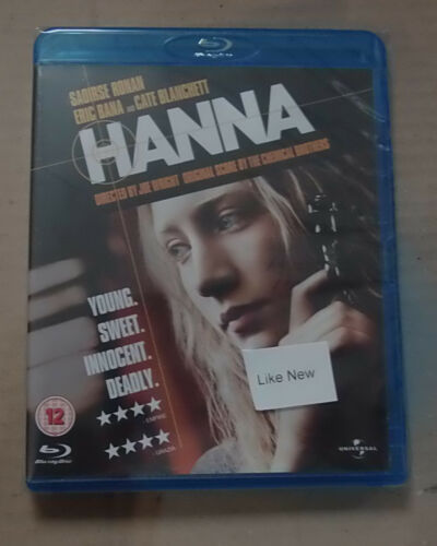 1 of 1 - Hanna   (Mint)(Blu Ray) Free  postage