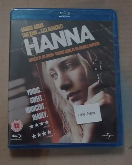 Hanna   (Mint)(Blu Ray) Free  postage
