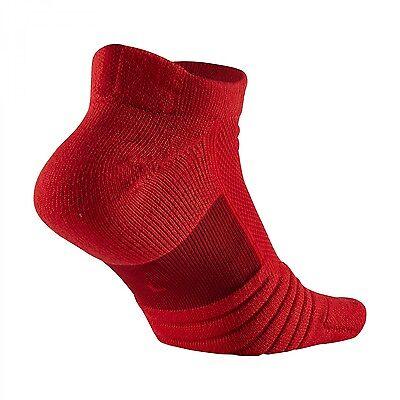 Nike Elite Versatility Low Basketball Socks Red SX5424-657 Sz M L XL