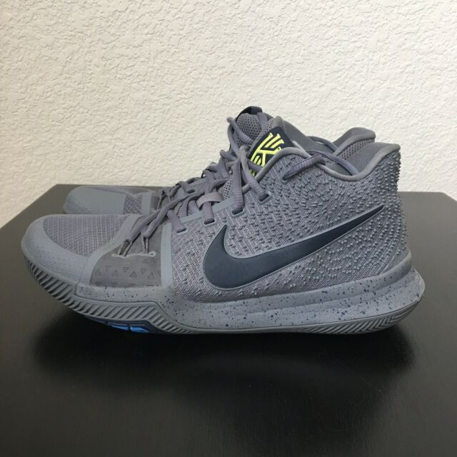 new style b388c afeb6 NIKE Shoes Kyrie 3 Cool Grey Midnight Navy Pure 852395-001 Size 11 Men's.  NICE.