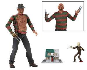 Dream-Warriors-Ultimate-Freddy-Krueger-7-034-Action-Figure-NECA-Elm-Street