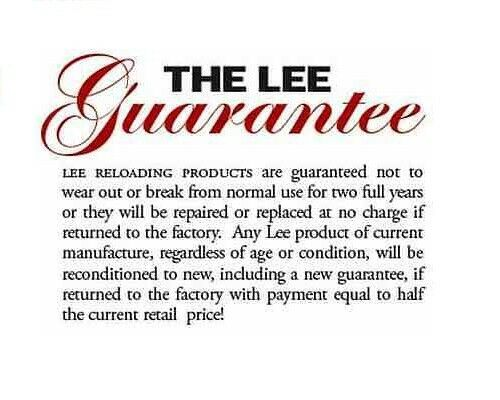 Lee Precision Powder Through Expanding Die ONLY for 50 Action Express