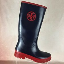 06e9bd9595e item 3 TORY BURCH Tall Navy Blue Red Rubber Rain Boots Wellies Shoes  Women s Size 11 -TORY BURCH Tall Navy Blue Red Rubber Rain Boots Wellies Shoes  Women s ...