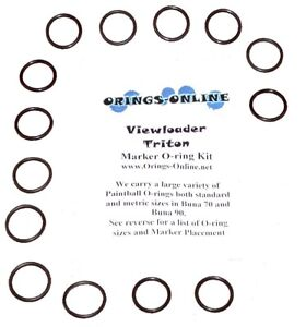 Viewloader-Triton-Paintball-Marker-O-ring-Oring-Kit-x-2-rebuilds-kits
