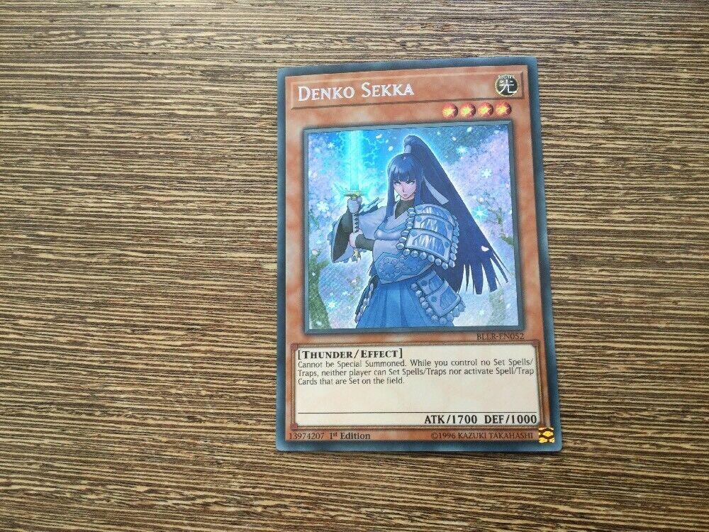YUGIOH  Denko Sekka BLLR-EN052 //Secret Rare