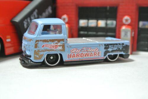 Hot Wheels Loose 1:64 Flatbed Volkswagen T2 Pickup Truck Hardware Blue