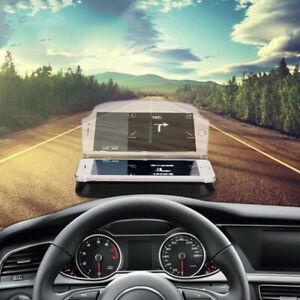 Coche GPS HUD Head Up Pantalla De Navegación Teléfono Inteligente Soporte Soporte Proyector
