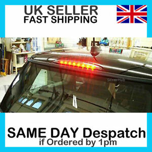 FOR-MINI-COOPER-ONE-R50-R53-2001-2006-SMOKED-3RD-THIRD-LED-REAR-BRAKE-LIGHT-STOP