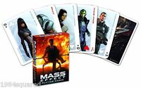Mass Effect Playing Cards Poker Card Deck Gaming Ea Bioware Mint Sealed