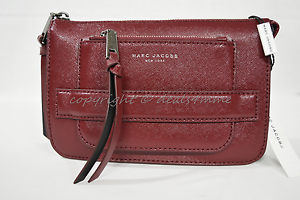 59469d21c11d NWT MARC By Marc Jacobs M0009639 Madison Saffiano Leather Crossbody ...
