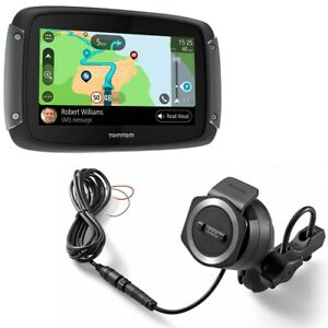 TomTom-Rider-550-World-Moto-Dispositivo-di-Navigazione-Navigatore-Lifetime
