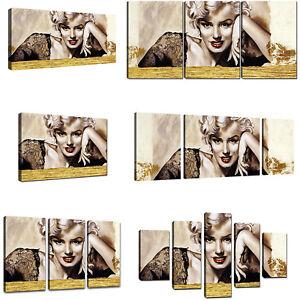 Quadro Moderno Marilyn Monroe Quadri Moderni Stampa Su Tela Canvas ...