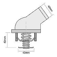 TRIDON-Std-Thermostat-For-Mercedes-CLK320-C209-06-02-09-05-3-2L-M112-955