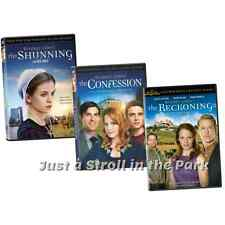 Beverly Lewis Complete Movie Series Shunning Confession Reckoning Box / DVD Sets