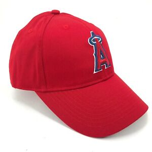 California-Angels-Of-Anaheim-Ajustable-Outdoor-Cap-Adulto-Youth-Tallas-Rojo-Halo