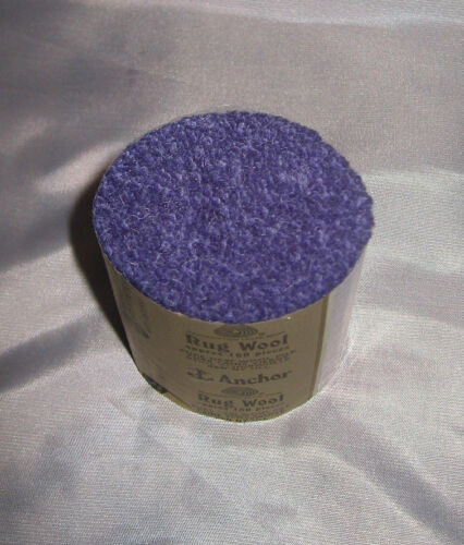 10 packs Anchor mauve #54 6-ply rug wool,formerly Readicut//Homemakers.