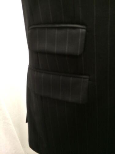 gessata Laurent Yves uomo lana Saint Blazer 42L taglia 100 nera pettinata da gqzxHIna