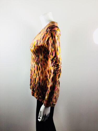 Emu en X multicolore Small Taille Pull à v col imprimé 6qRp6