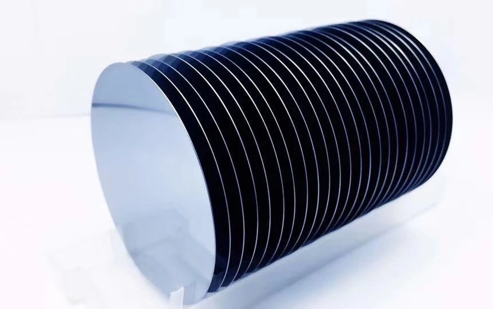 1 Cassette (qty. 25) of 100 mm P Type (B-doped) Prime Grade Silicon Wafer <100>,