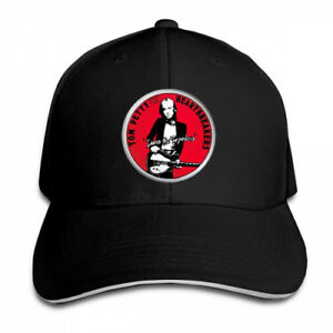 Tom-Petty-And-The-Heartbreakers-Snapback-Baseball-Hat-Adjustable-Cap