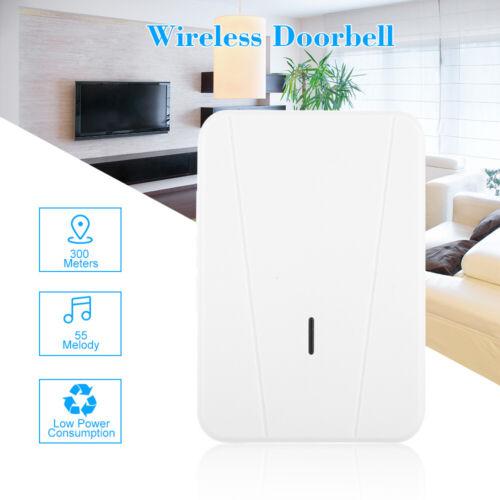 Smart Door Bell Wireless WiFi Ring Security Doorbell Door Phone Reminder W9N5