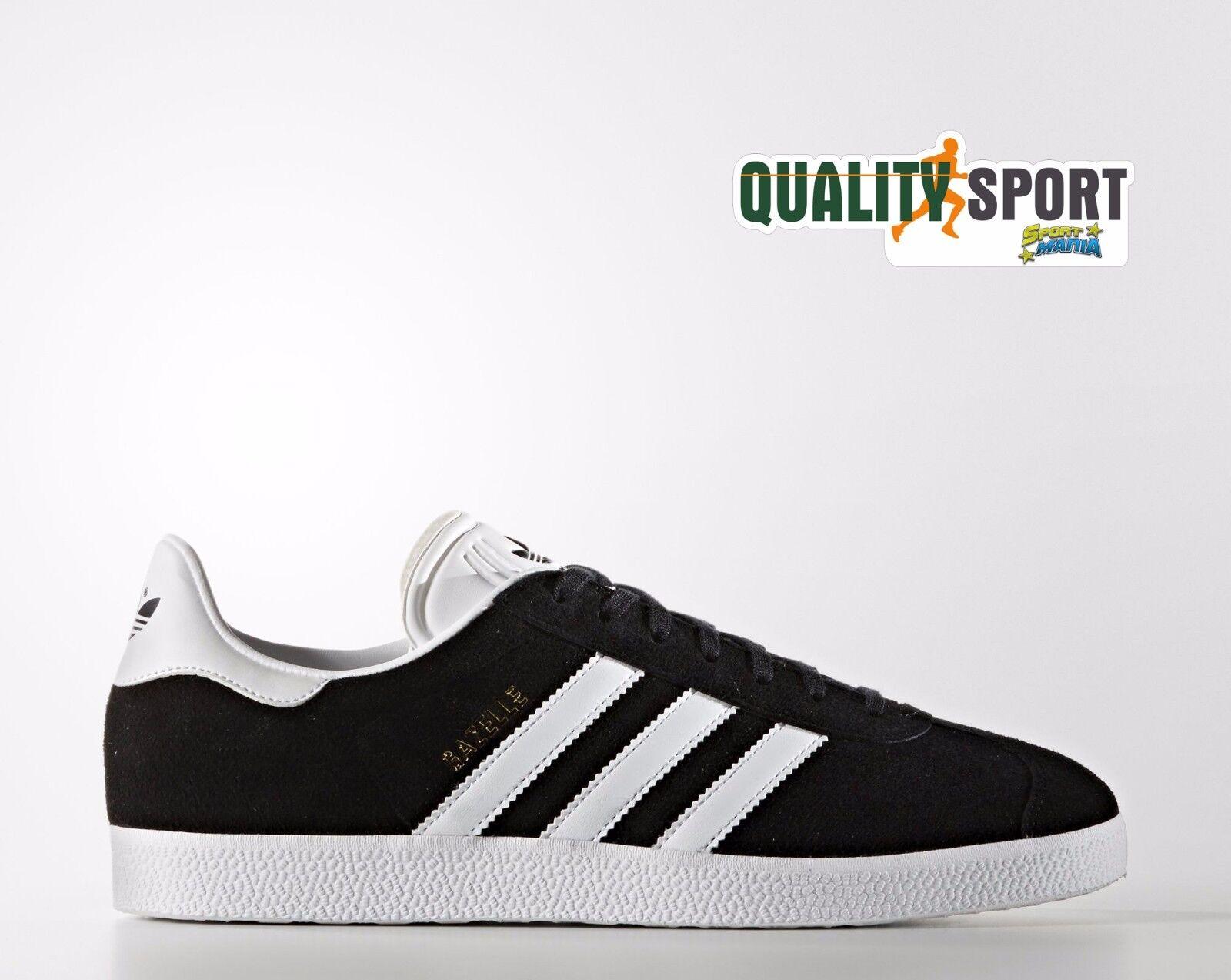 Adidas Gazelle Nero Uomo Scarpe Sportive Sneakers BB5476