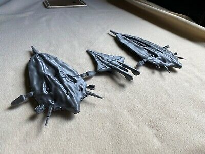 Kit Of The Wraith Spaceships From Stargate Wraith Hive Superhive Cruiser Ebay