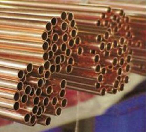 """Dia 0.984/"""" US Stock 2x 25mm Wall 9.85/"""" Long 99.9/% Pure Copper Tube 0.04/"""" 1mm"""
