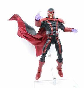 SU-C-MG-1-12-Custom-schwarz-rot-verkabelt-Cape-fuer-Marvel-Legends-Magneto-keine-Abbildung