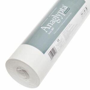 Doublure-Papier-1200-Grade-a-Peindre-Anaglypta-Papier-Peint-10M-5-6MSQ-Neuf
