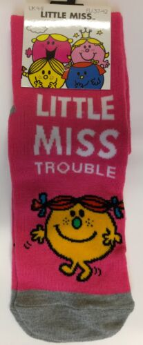 Size 4-8 1 pair Ladies Ankle socks with Little Miss detail
